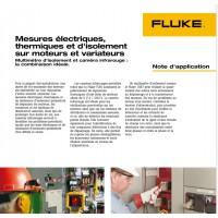 Note d'Application - Isolement des moteurs et variateurs - FLUKE